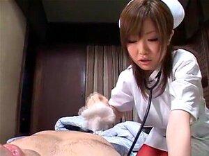Exotic Japanese girl Rio Hamasaki, Chichi Asada, Saki Tsuji in Crazy Medical, Lingerie JAV movie