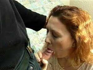 Wife sucks husband's dick and gets a hot creamy cumshot, Mature wife gets a hot creamy cumshot over her face after sucking her man's cock deep with her wet luscious mouth.