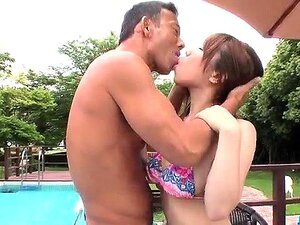 Flaming outdoor sex spectacle with Iroha Suzumura
