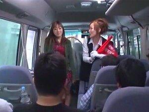 Crazy Japanese model Reina Akitsuki in Exotic Bus, Girlfriend JAV clip