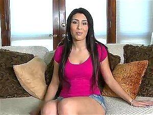 สีน้ำตาล Nunez นาตาลีนิ้วหีของเธอแล้ว เย็ด