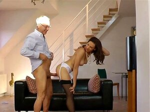 Amateur stockings hoe rides old guy. Amateur stockings hoe rides old guys hard dick and loves it in hd
