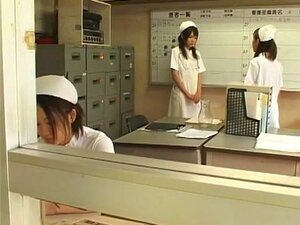 Fabulous Japanese chick Tsukasa Minami, Rui Natsukawa, Megumi Shino in Incredible Handjobs, Cunnilingus JAV movie