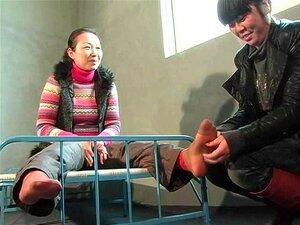 บ้านจีน ticklish เท้า และเอว