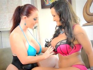 XXX Superstars Sophie Dee and Lisa Ann 1st Scene Together!