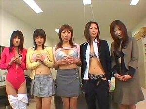 Horny Japanese whore Kaoruko Wakaba, Arisu Matsunaga, Yuki Ichinose in Hottest Big Tits, Rimming JAV scene