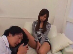 Amazing Japanese whore Maho Aiuchi in Best Girlfriend, Blowjob JAV scene
