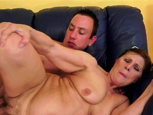 Chubby granny pounded in missionary position. Chubby granny pounded in missionary position before getting creampied