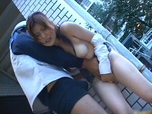 Asian lady has some hot sex in public part1