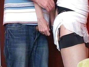 หลั่งของกางเกงชั้นในไนลอน