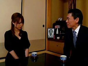 Horny Japanese chick Akiho Yoshizawa in Amazing lingerie, stockings JAV scene