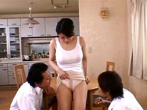 Miki Sato real asian mum has orgy part3