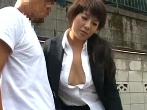 Frustrated Asian lady has public sex jav part2