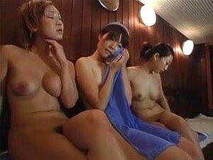 Lesbo Molesters in a Bathhouse 4 of 4 (censored)