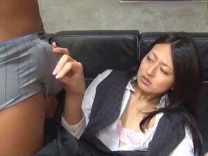 Horny Japanese chick Sae Aihara, Azumi Mizushima, Ryo Kaname in Hottest Censored JAV scene