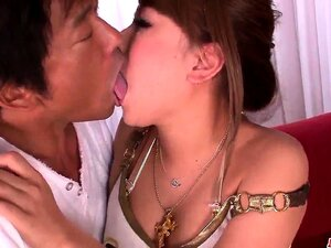Cocoa Ayane sucks the cock dry after a serious fuck