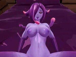เกาะสัตว์ประหลาดสาวสาธิต - Eris ปีศาจเมือกฉาก Remake
