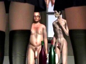 สาว Hentai 3D รับ Cumshot