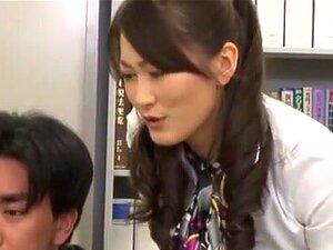 ดอกทองญี่ปุ่นอาโอกิ Misora ใน Amazing เลขานุการ JAV ด้งวิดีโอที่ดีที่สุด