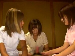 Nana Aoyama, Nao Tachibana, Airu Oshima big tit milfs orgy. Nana Aoyama, Nao Tachibana, Airu Oshima are nasty Aians milfs enjoying this hirny young guy. His cock is up and he is fucking tits and leaving cum on them as well as getting great oral sex from these experienced milfs as they teach him how to treat a wet cunt and satisfy these hot milfs