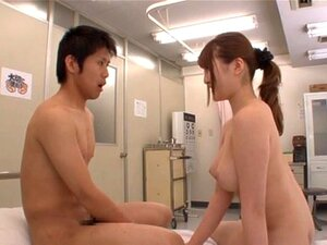 Naked school with a hot teacher Momoka Nishina giving blowjob, A school where nudity is mandatory? Fucking hell, why could I go there?! Momoka Nishina is a naked teacher in a classroom full of naked students, but she has ona guy in her mind that she wants to take care of. She lets him lick out her pussy, but it´s his junk that she´s interested in, and she´s all about sucking, pumping and squeezing it