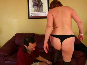 Mature cougar gets all the dick she can handle from a younger guy - Calliste