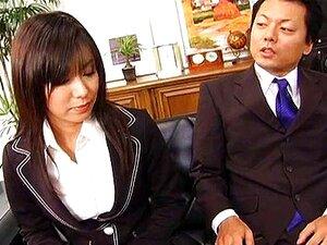 เซ็กซี่เลขานุการ Satomi Maeno ดูดควยน่าเกลียด