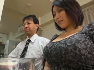 Wife With Super Big Tits. A wife with big breasts who gets horny very easily. Not just is she having sex with her horny husband, but she's also having sex behind his back, and sometimes just right around the corner. Starring busty Yuki Maeda.