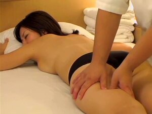 Nice Jap gal crammed by a fat guy in voyeur massage video, Very pretty and horny Jap gal gets her nice hairy twat screwed hard by her fat masseur in this kinky erotic massage voyeur video and she seems to be quite happy about it.
