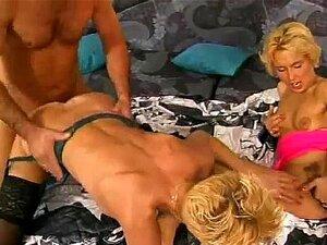 2 amateur Milf threesome with cumshot