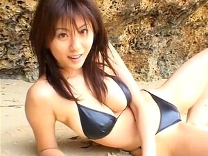 Yuma Asami in Nei Kido Binasu. Super breasty AV actress Yuma Asami in her own gravure idol bikini video. An outdoor and indoor video production featuring Yuma in some very sexy bikinis, lingerie and showing her large breasts. Very erotic, but no sexual content.