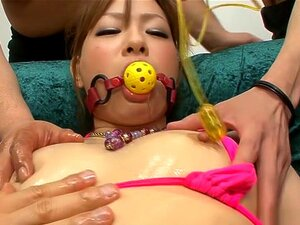 Exotic Japanese slut Yukina Momose in Horny JAV uncensored Dildos/Toys clip