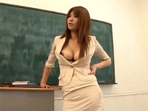 Ai Kurosawa in M & T. Another Ai Kurosawa, one of the hottest AV adult stars in Japan couple years ago who was known for her large breasts and her volleyball figure, and not to mention her rather squirrely voice. In this no mosaic video, she plays a school teacher and more.