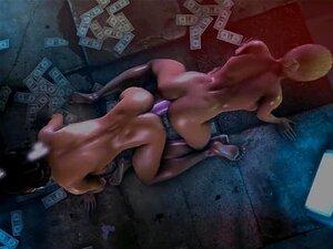 แคกรงมี Kitana ใน MK X sex(original)