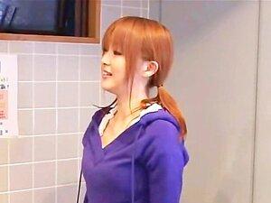 บาง CFNM ญี่ปุ่นอวัยวะเพศชายซักผ้าตามหลักสูตรของปาก
