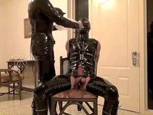 Incredible homemade Latex, BDSM sex scene