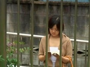 ไม่เคยอ่านหนังสือในสาธารณะกับพวกชู sharking รอบ ผู้หญิงคนนี้กำลังรอรถบัส และอ่านหนังสือเมื่อบางคนจากชูริ sharking มีเสื้อปิดและหัวนมของเธอมีหน้าตาของทุกผู้ชมวิดีโอนี้ เธออึ้ง