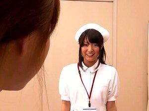 Crazy Japanese whore Love Saotome, Minami Hirahara, Nana Usami, Hitomi Fujiwara in Horny nurse, lesbian JAV clip