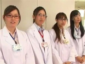 Exotic Japanese slut in Amazing Medical JAV movie,