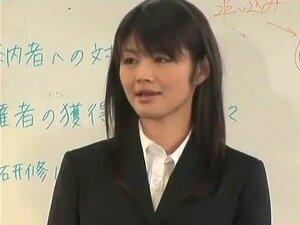 โสเภณีญี่ปุ่นยอดเยี่ยมในวิดีโอ JAV สำนักงานแปลกใหม่