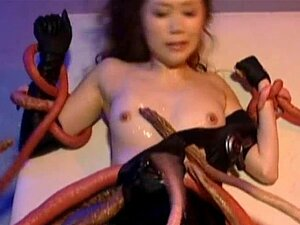 Asami ogawa gets fucked by huge crab part6