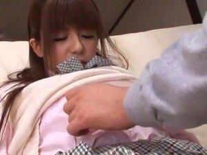 สาวญี่ปุ่น Riri Kuribayashi ในฉาก JAV ผอมที่ร้อนแรงที่สุดดีที่สุด