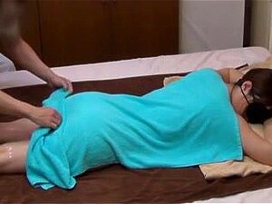 Husband Watches Japanese Wife Get a Naughty Massage - 2. Husband hides in the closet and