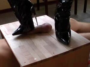 No Sound: Sharper, pointier, higher and deadlier heels you wont find on boots