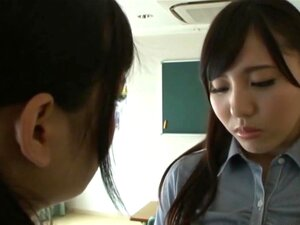 Shuri atomi dominates lesbians 13, Tiny shuri atomi is a cute japanese college girl but is also very dominant.