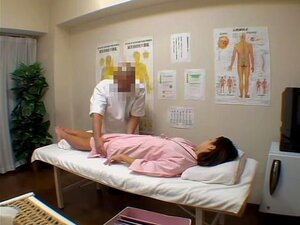 Japanese slut receives something special from her masseur, Small perky tits of this Japanese bitch look incredibly hot as she gets fingered hard by her masseur in this hidden camera massage video. Her body looks very alluring and fuckable.