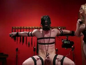 Huge tits dom zappers slaves dick