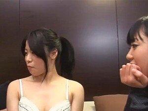 JAV stars CFNF lesbian threesome Subtitles