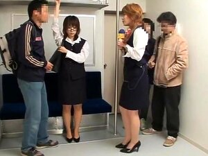 Try Something Once, A funny video on picking up common guys off the street and making their AV fantasy come true. A group of girls roam the streets interviewing men and offer their services to help them achieve their sexual fantasies. Some guys want to try out the Bus groper theme and grope women on the transit, and some want to try out those famous group soapy sex found in videos, and some just want kinky party sex, all common themes in japanese adult videos.