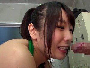 Fabulous Japanese girl Riku Minato, Chika Arimura, Saki Hatsuki in Best masturbation, cheerleaders JAV movie,